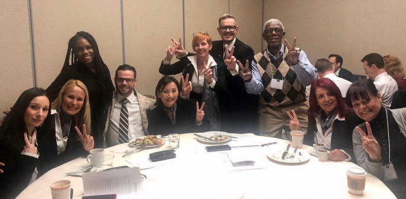 LOVELY COMPANY!!!....JUDGES AND VOLUNTEERS OF THE MANHATTAN CLASSIC 2019 in Hyatt Regency Hotel, New York