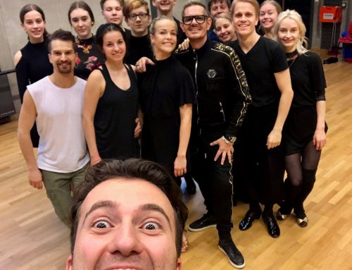 DANCE GROUP LESSON IN BERGEN, NORWAY