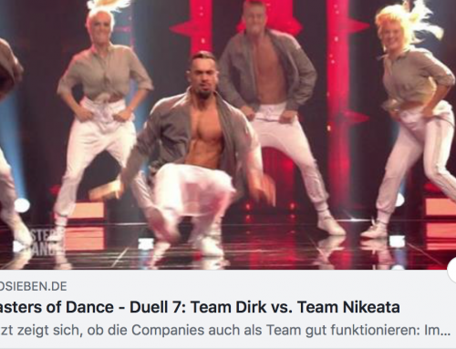 "MASTERS OF DANCE 2018/19….TEAM DIRK….COMPANY BATTLE ""A LITTLE PARTY NEVER KILLED NOBODY""……WEEEEEEEE WON!!!!!!!!!!!!!"