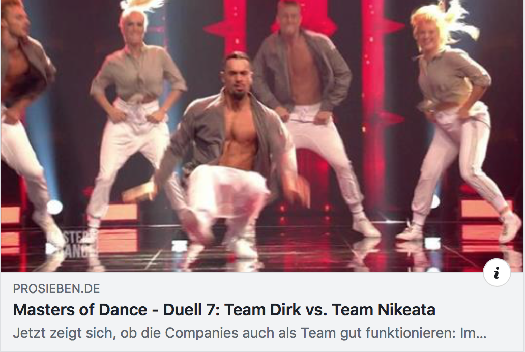 MASTERS OF DANCE DUELL 7: TEAM DIRK VS. TEAM NIKEATA