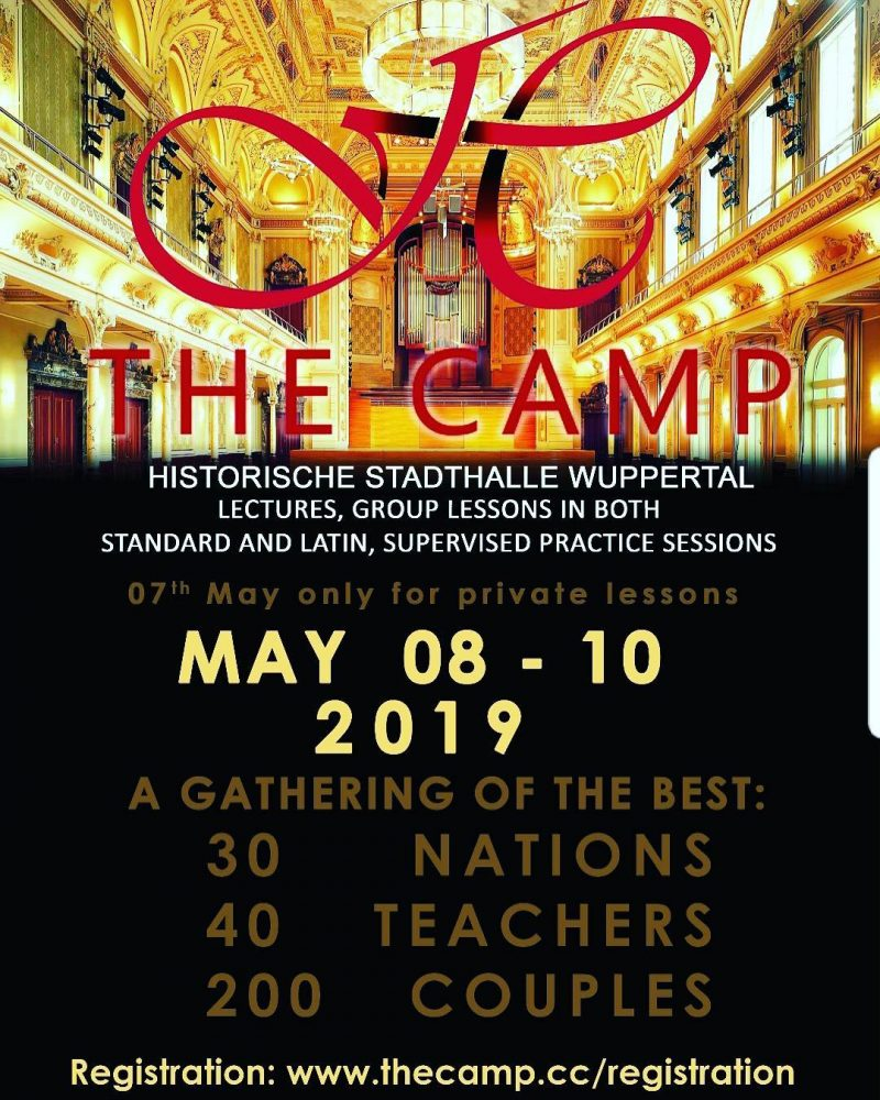 The Camp, Historische Stadthalle Wuppertal May 08-10. 2019 with Dirk Heidemann, World Reknown Trainer and Choreograph